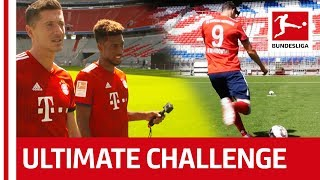 Lewandowski, Coman & Co. - FC Bayern München's Crazy Glasses Challenge