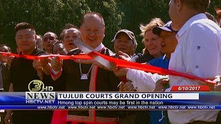 3 HMONG NEWS: Watch the Grand Opening of Hmong Tuj Lub Courts at Keller Park.