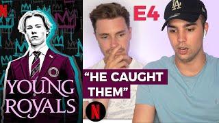 YOUNG ROYALS E4 GAY GUYS REACT   Corey Schultz