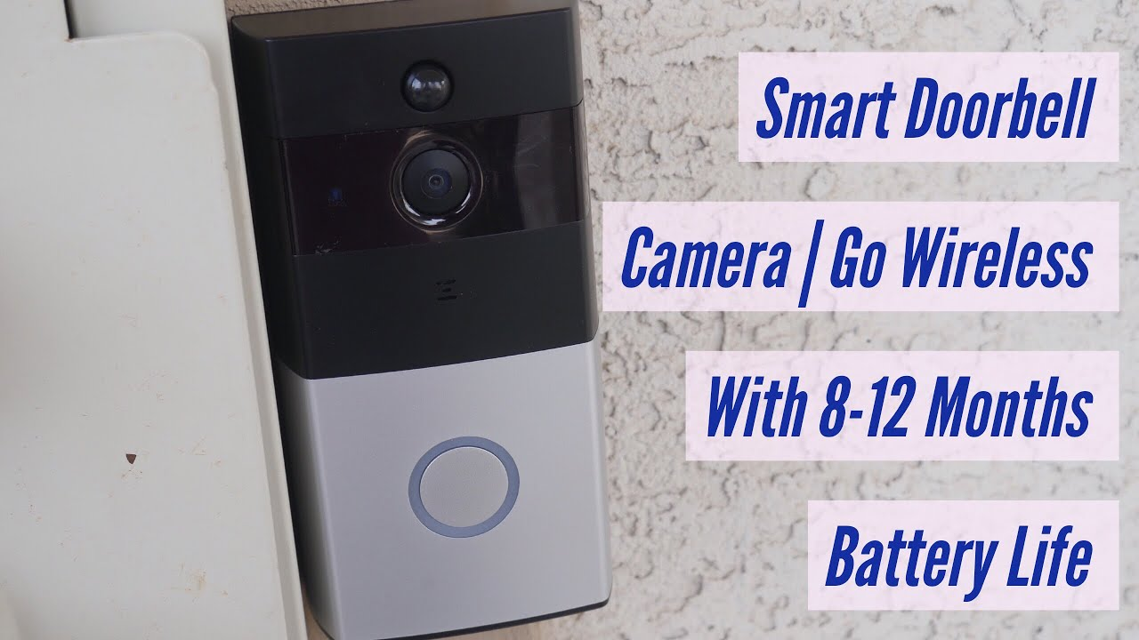 31118600d9133 Smart Doorbell Video Camera | Go Wireless With 8-12 Month Battery Life