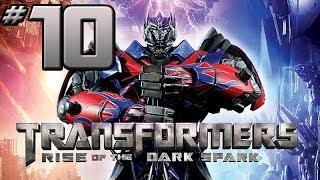 Transformers Rise of the Dark Spark Walkthrough - PART 10 - Optimus Prime Vs. Megatron