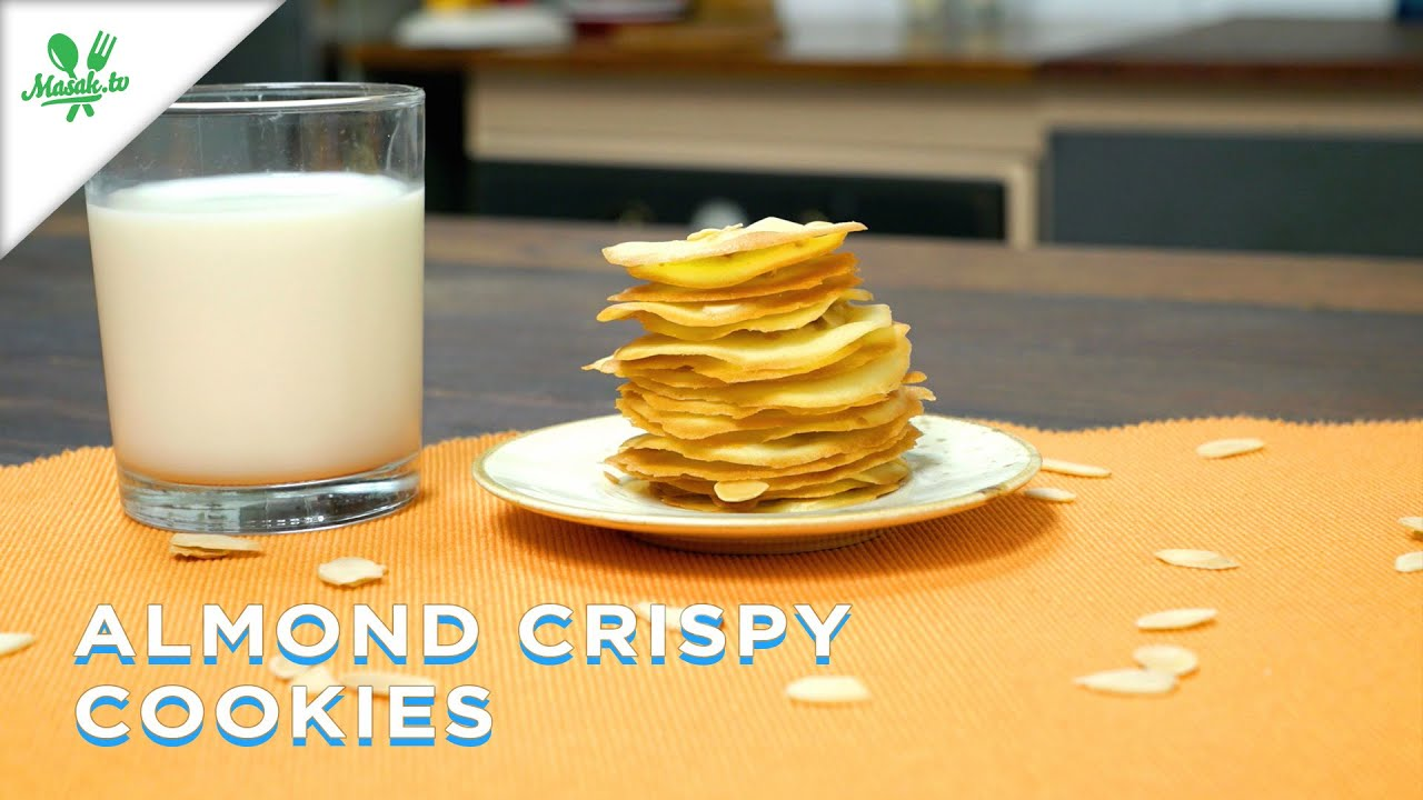 Almond Crispy Cookies