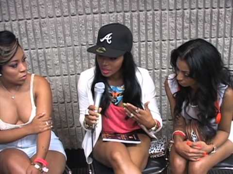 "K.Michelle, Rasheeda, Karlie Redd of ""LHHATL"" - YouTube K Michelle And Rasheeda"