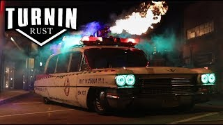 Who Ya Gonna Call Part 2 | 1963 Cadillac Hearse Cummins Swap | Ghostbusters Ecto 1 | Turnin Rust