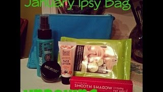 {January Ipsy Bag} Unboxing and First Impressions Thumbnail