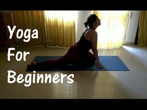 Yoga for Thighs,Butts & Back Pain|Beginners||5 Minute Morning Stretching||Pigeon pose||Hindi/English