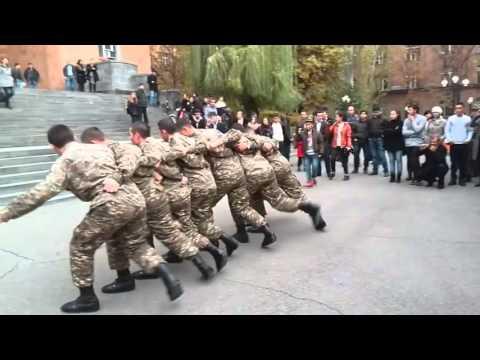 Танцы Армянских солдат, Арцвапар, Кочари, Армия Армении