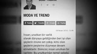 Şanlıurfa Gazetesi 39 nde bugün yayınlanan köşe yazım yayındadır