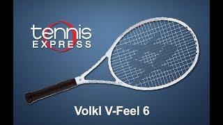 Volkl V Feel 6 Tennis Racquet Review | Tennis Express