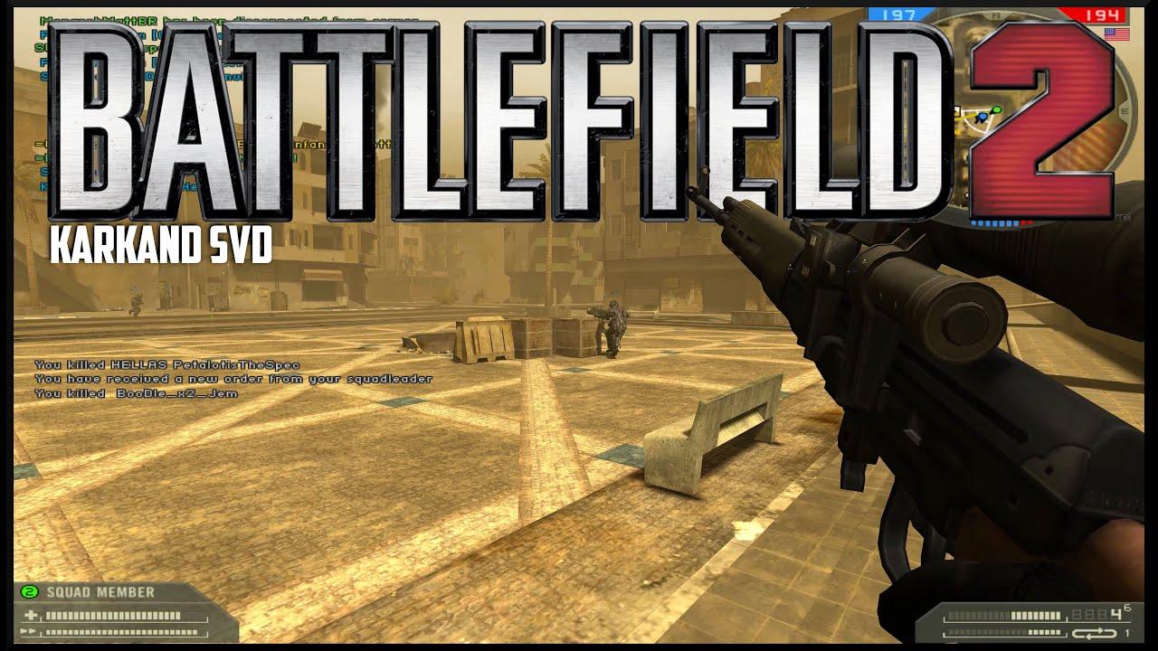 Battlefield 2 Karkand With The SVD | 4K
