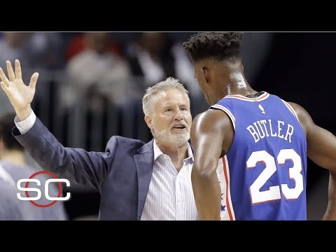 Pressure on Brett Brown to fix Jimmy Butler situation   NBA on ESPN