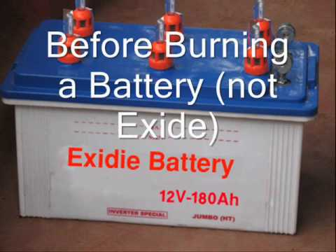 Battery Will Ask 4 Distilled Water Wmv Youtube