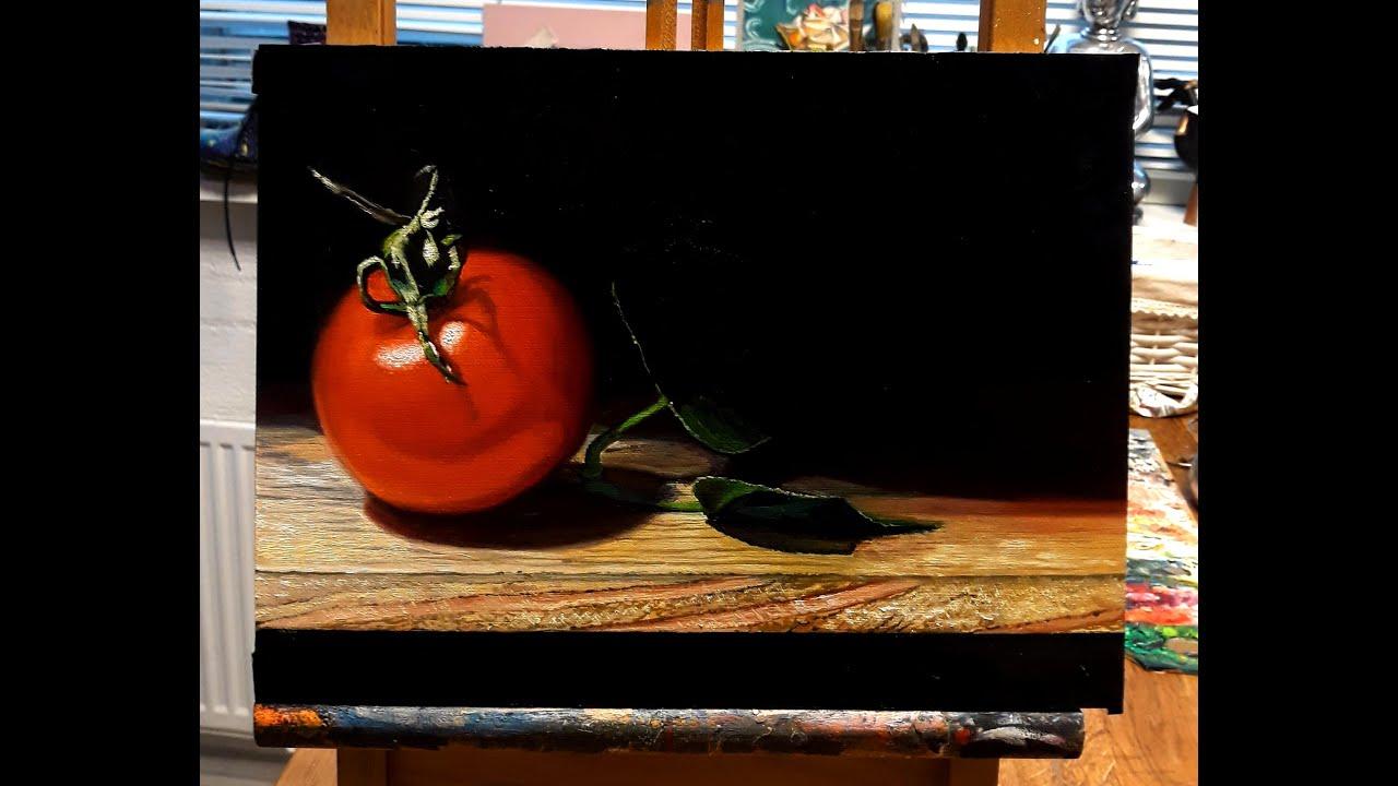 Oil Painting Study: ''Tomato''