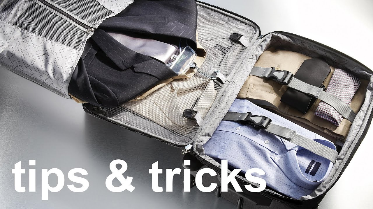 Best Travel Suitcase Packing Tips For Men - YouTube