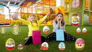 Cauta oule cu surpriza pe terenul de joaca!