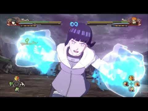 Naruto Shippuden Ultimate Ninja Storm 4  - Hinata VS Pain  