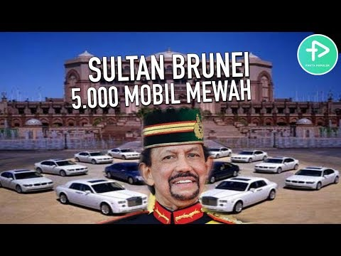 TAJIR MELINTIR Bingun Abisin Duit! 5 BARANG SUPER MEWAH MILIK SULTAN BRUNEI