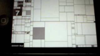Iphone App Clock : Grid Patterns