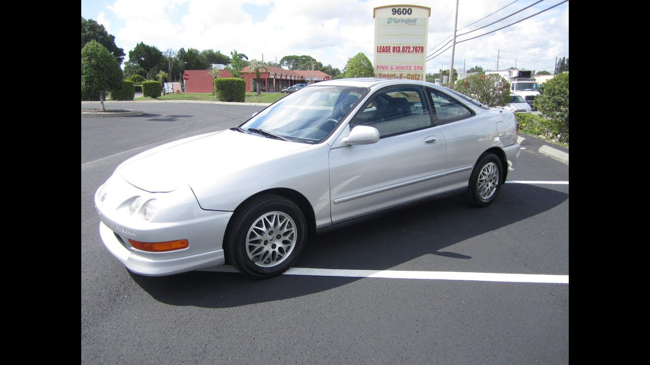 Sold 1998 acura integra ls 5 speed manual meticulous motors inc florida for sale youtube