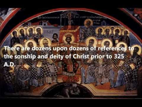 Was the Deity of Christ created at the council of Nicaea? The Evidence