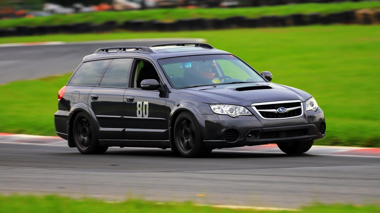 Subaru Outback At Summit Point Main With Chin Track Days 8 6 2017 Red Group