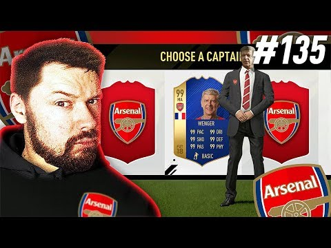THE ARSENE WENGER FUT DRAFT!! - FIFA 17 Ultimate Team Draft To Glory #135