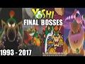 Evolution of Final Bosses & Endings in Yoshi Games  1993 - 2017