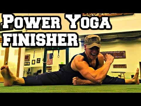 Ninja Power Yoga FINISHER Workout (part 2 of 3) - Sean Vigue Fitness