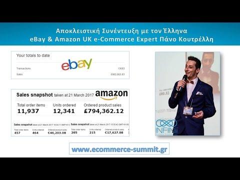 Αποκλειστική Συνέντευξη με τον Έλληνα eBay & Amazon UK e-Commerce Expert Πάνο Κουτρέλλη