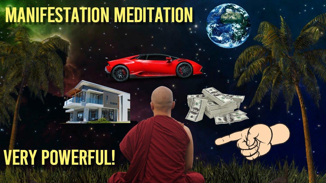 Guided Manifestation Meditation | LAW OF ATTRACTION (10 minute meditation)