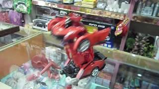 2016 RC Toys Radio Remote Control Vehicle Car Deform Robot Transforming Toy