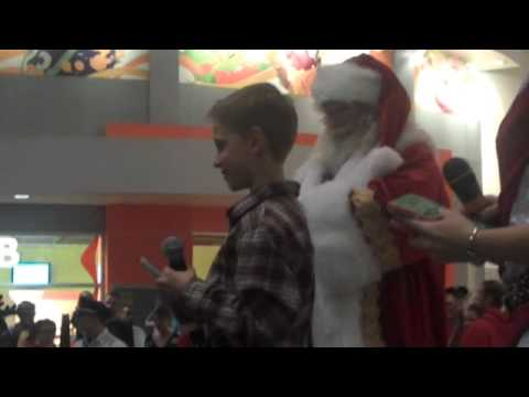 Santa's Arrival with Alec Greven at Mall of America