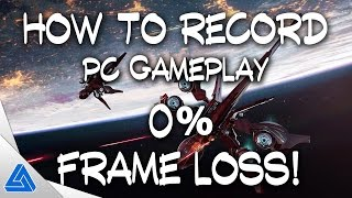 How to Record PC Gameplay! 0% Frame Loss! w/Elgato HD60 Pro
