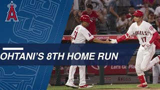 Ohtani hits first HR since coming off disabled list