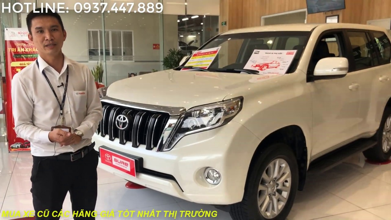 Cần bán Toyota Land Cruiser Prado 2016 cũ, xe đẹp, giá chất -ĐÃ BÁN