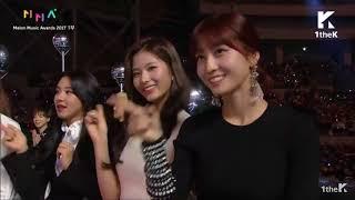 Download Video 171202 EXO & TWICE Reaction Na Haeun Dance Cover@ Melon Music Awards 2017 MP3 3GP MP4