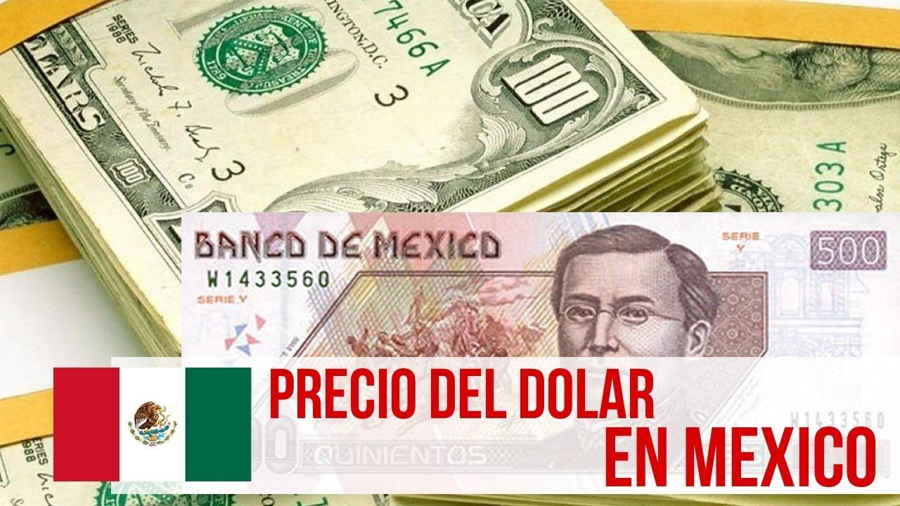 Precio Del Dolar En Mexico Hoy Enero 2018
