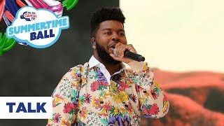 Khalid Talk Live at Capital s Summertime Ball 2019