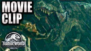A SCARY T-REX | Movie Clip HD | Jurassic World 2 PROLOGUE (2018) Chris Pratt, Dinosaurs Movie