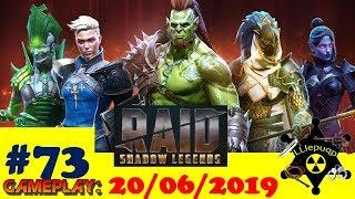 #73 RAID: Shadow Legends   Краткий обзор нового ивента   20/06/2019