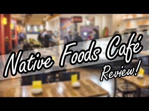 Vegan Restaurant Native Foods Cafe Review Dupont Circle Washington DC