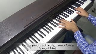 Janam janam Dilwale Piano Cover By Angad Kukreja