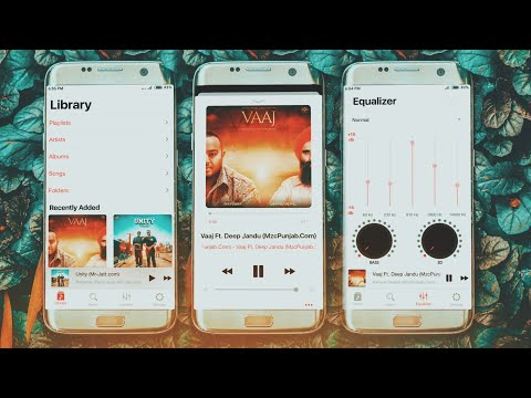 iOS 12 Music Player For Any Android Mobile | iPhone Xs Music Player | #iOS #Android