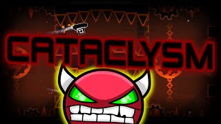 Geometry Dash EXTR3ME DEMON - Cataclysm - By Gboy - On Stream!