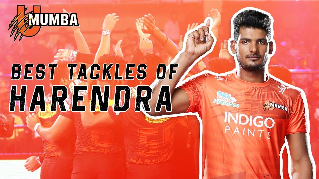 Harendra Kumar | Best Tackles | Pro Kabaddi League | Season 7