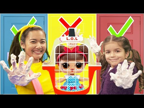 Don't Pick The Wrong Door | LOL Surprise Doll House Locked in Toy Store Jail