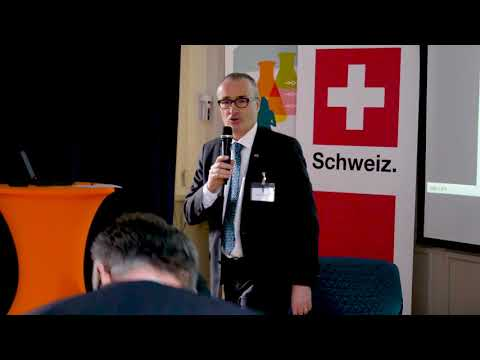 Introduction, Christian Schoenenberger, Ambassador of Switzerland and Peter Graf, CEO of Tiohundra