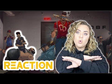 REACTING TO Dizzy DROS - Moutanabbi (Official Music Video) | DON BIGG DISS|