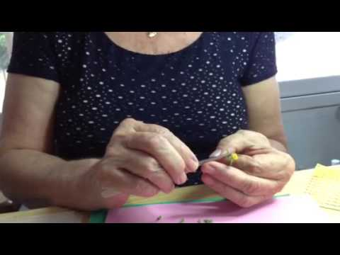 Making 1/12th scale dandelions with Mary Kinloch