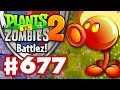 Battlez! Fire Peashooter Epic Quest! - Plants vs. Zombies 2 - Gameplay Walkthrough Part 677